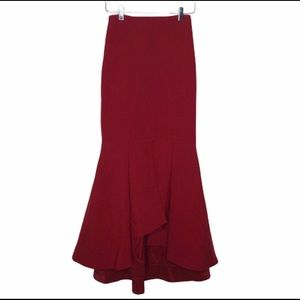Fame and Partners High Low Mermaid Long Skirt 4
